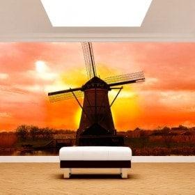 Fotomurales Molino Holanda