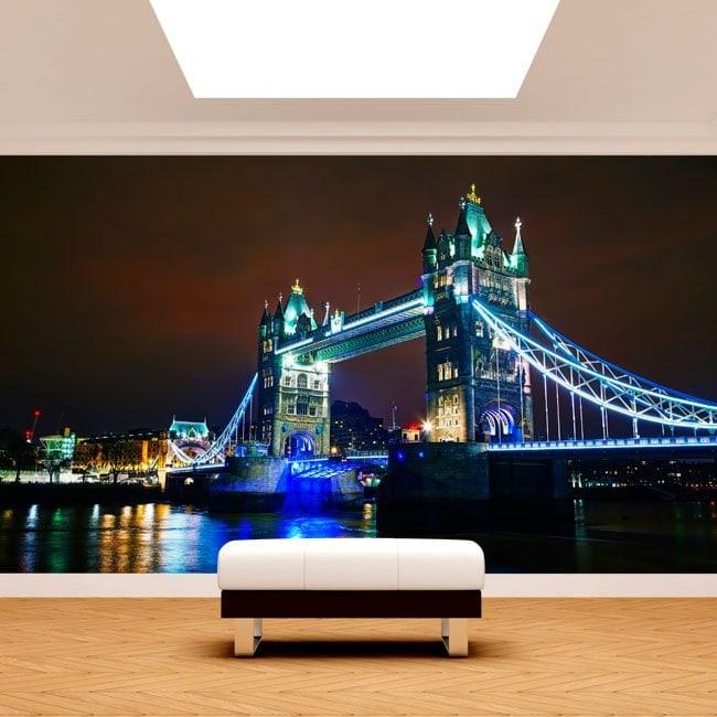Fotomurales Londres Puente De La Torre
