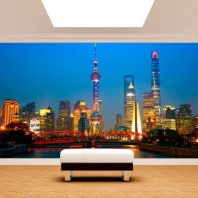 Fotomurales Ciudades Shanghái