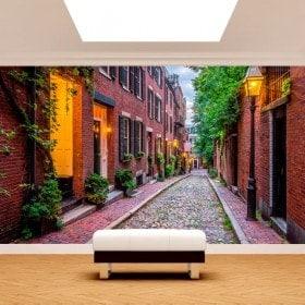 Fotomurales Boston Calles