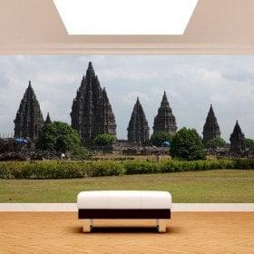 Fotomurales Yogyakarta Isla De Java Indonesia