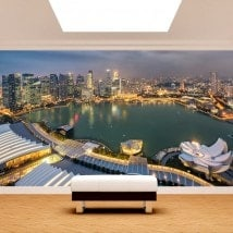 Fotomurales Ciudad Singapur