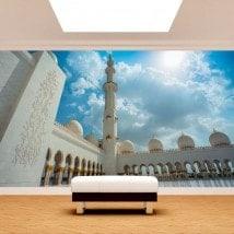 Fotomurales Mezquita Sheikh Zayed