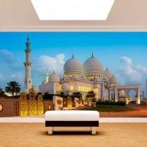 Fotomurales Vinilos Mezquita Sheikh Zayed