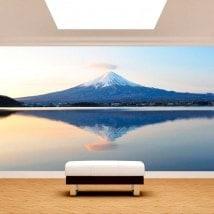 Fotomurales Monte Fuji Lago Kawaguchi