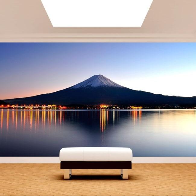Fotomural Monte Fuji Lago Kawaguchi