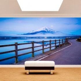 Fotomurales Carretera Monte Fuji