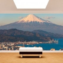 Fotomurales Ciudad Monte Fuji