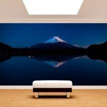 Fotomurales Lago Kawaguchi y Monte Fuji