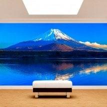 Fotomural Pared Monte Fuji