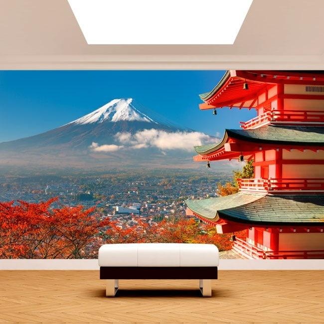 Fotomural Paredes Monte Fuji