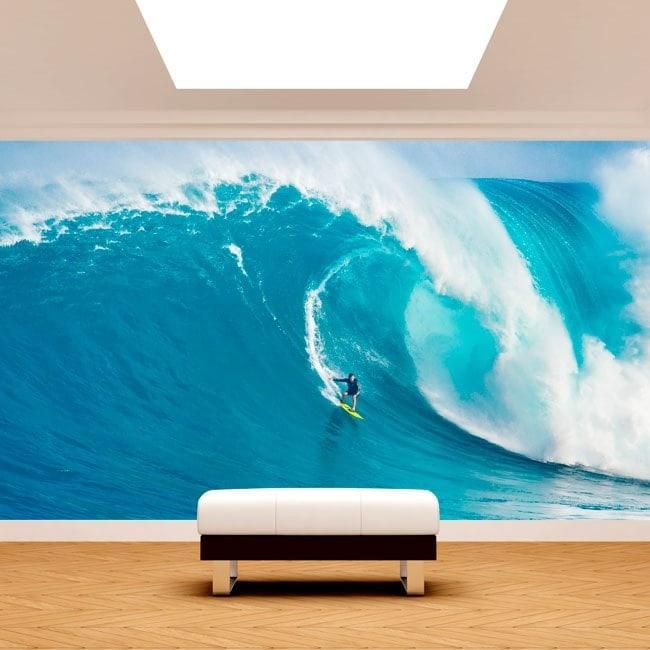 Fotomural Surfeando La Gran Ola