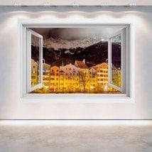 Ventanas 3D Innsbruck Austria De Noche