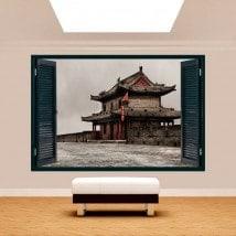 Ventanas 3D Muralla De Xian