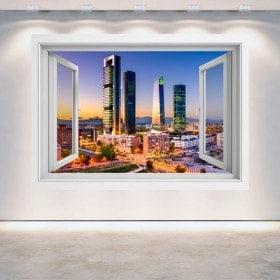 Ventanas 3D Madrid Ciudad Financiera