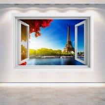 Ventanas 3D Torre Eiffel París