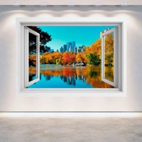 Ventana 3D Central Park Nueva York
