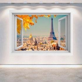 Ventanas 3D París Torre Eiffel