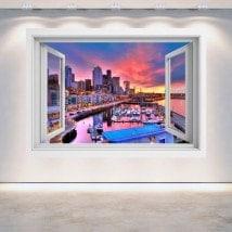 Ventanas 3D Puerto De Seattle