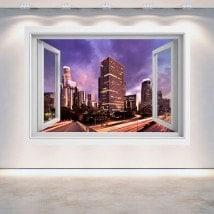 Ventanas 3D Los Ángeles Ciudad