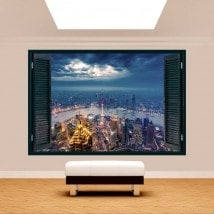 Ventana 3D Nueva York