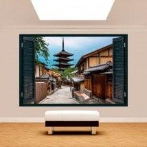 Ventanas 3D Tokyo Calles