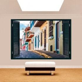 Ventanas 3D Puerto Rico Calles