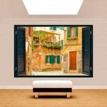 Ventanas 3D Venecia Calles