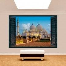 Ventanas 3D Vinilos Mezquita Sheikh Zayed