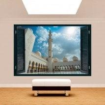Ventanas 3D Mezquita Sheikh Zayed