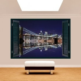 Ventanas 3D Manhattan Puente Brooklyn