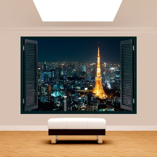 Ventanas 3D Tokyo Japón