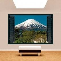 Ventanas 3D Monte Fuji