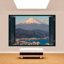 Ventanas 3D Ciudad Monte Fuji