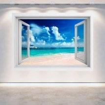 Ventana 3D Playa