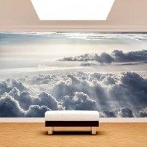 Fotomural Nubes Y Rayos De Sol