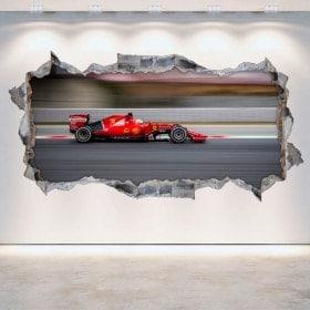 Vinilos 3D Coches Fórmula 1