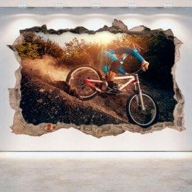 Vinilos 3D Mountain Bike