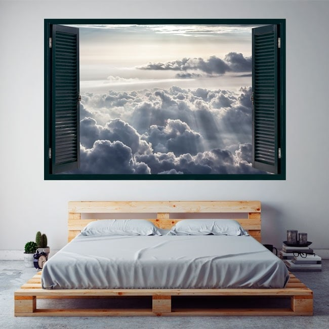 Ventanas 3D Nubes Y Rayos De Sol