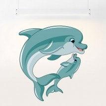 Vinilos Delfines Infantiles