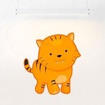 Vinilos Tigre Infantil