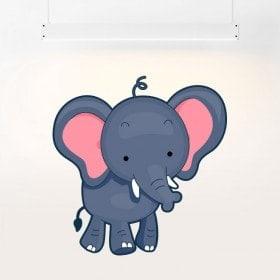 Vinilos Elefante Infantil