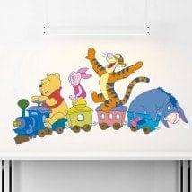 Vinilos Infantiles Tren Winnie The Pooh