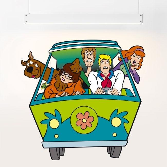 Vinilos Infantiles Scooby-Doo