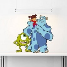 Vinilos Infantiles Monsters Inc
