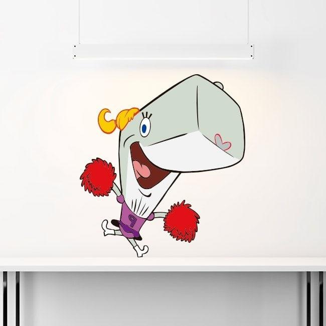 Pegatinas Infantiles Bob Esponja Pearl Krabs