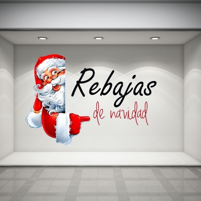 Vinilos Rebajas Navidad