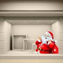 Pegatinas Santa Claus Navidad