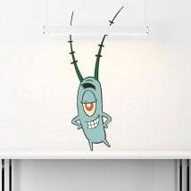 Pegatinas Plankton Bob Esponja