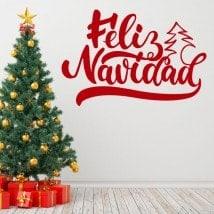 Vinilos Feliz Navidad